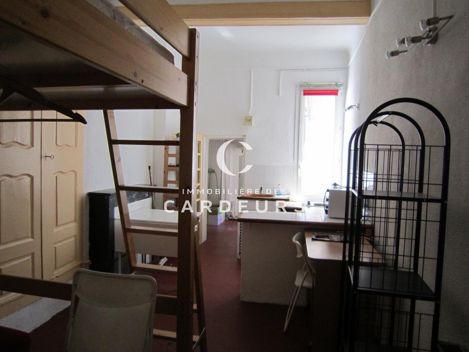 Location studio meubl aix en provence centre ville proche for Location meuble aix en provence